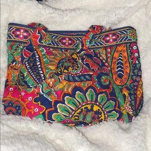 Vera Bradley in pattern venetian paisley tote bag